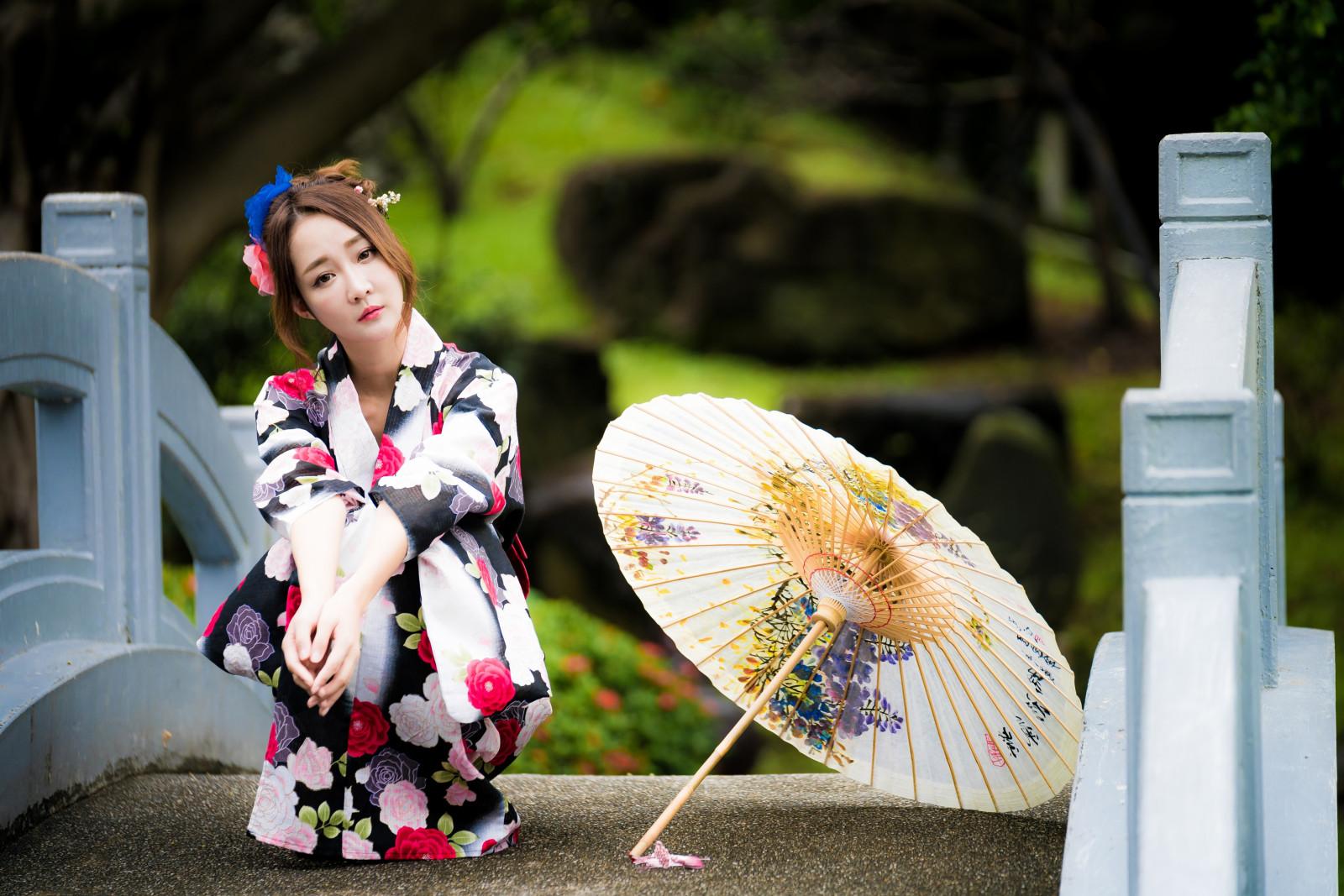 красивые японки с зонтами картинки рекордсмен