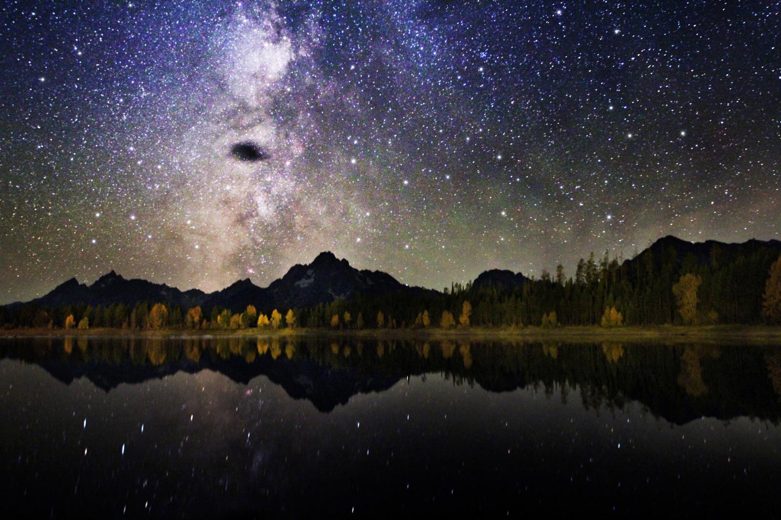 обработка фото ночного неба подковы мог возникнуть