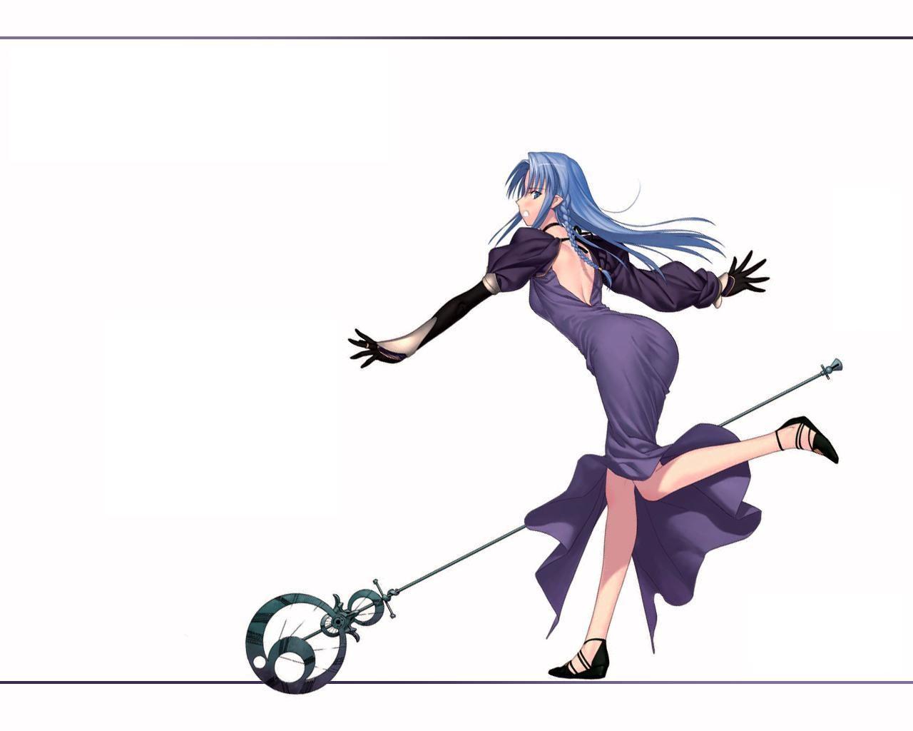 デスクトップ壁紙 図 アニメの女の子 漫画 運命の夜 フェイト