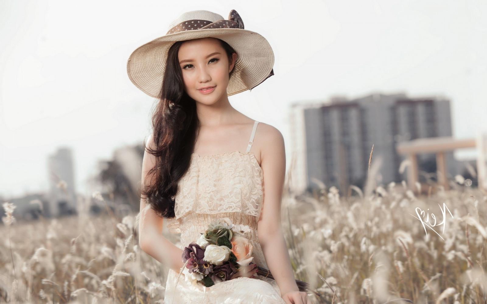 Asiatisch Im Freien