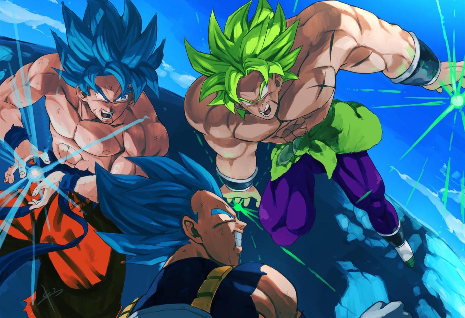 Wallpaper Dragon Ball Dragon Ball Super Movie Vegeta Son Goku