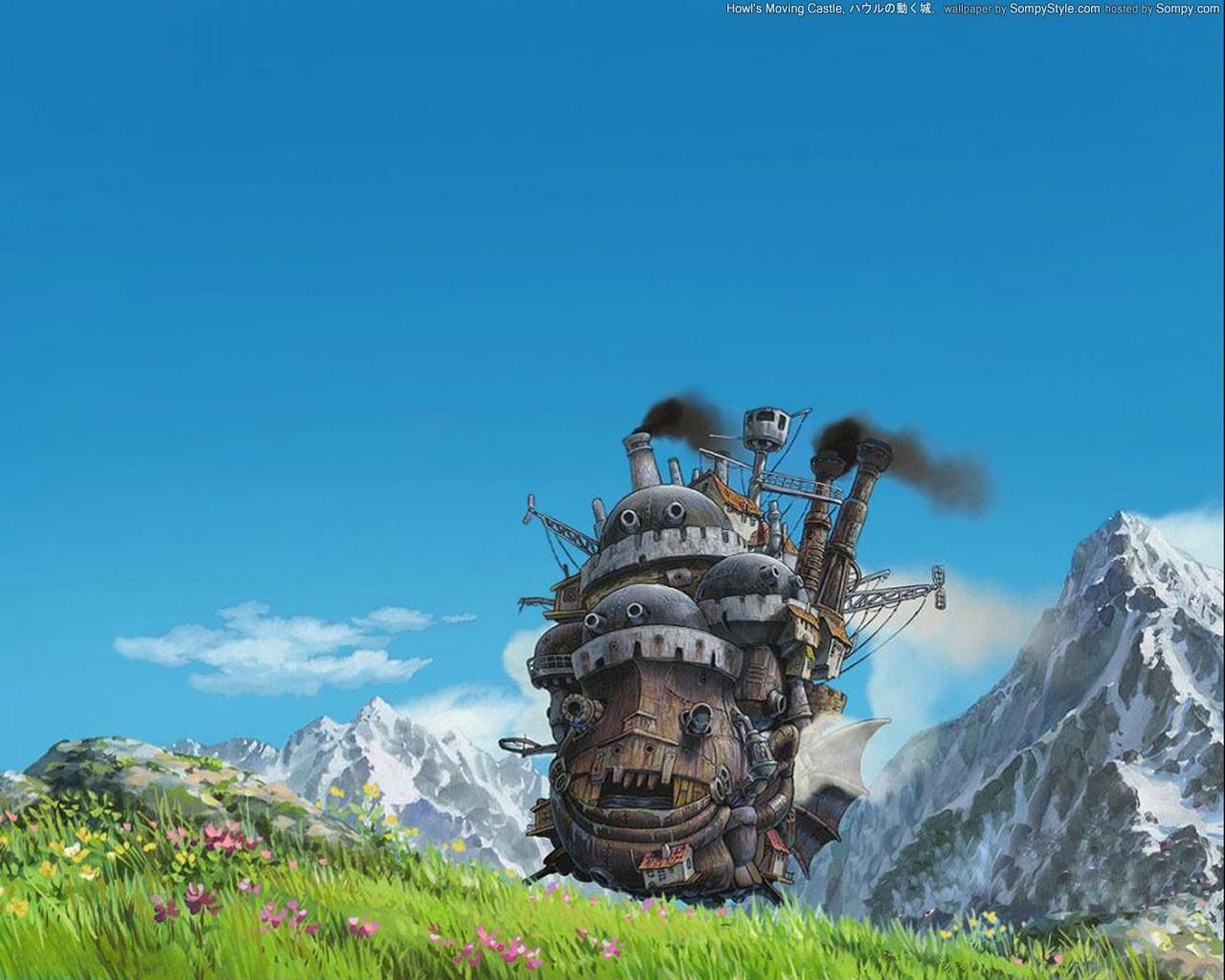 デスクトップ壁紙 アニメ スタジオジブリ ハウルの動く城 地形