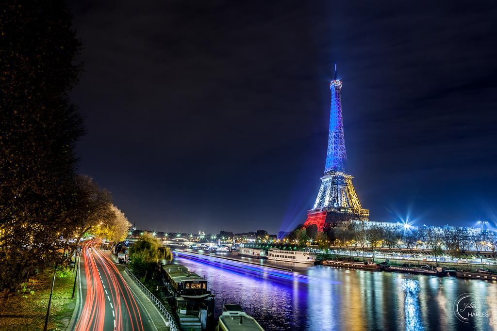 Wallpaper Eiffel Eiffeltower Europe France Hdr Laseine Paris Seine Toureiffel Birhakeim Boats Carlight Carlighttrails Cartrails Frenchflag Longexposure Night Nuit Peniche Poselongue Quai Quaideseine 1024x683 944584 Hd