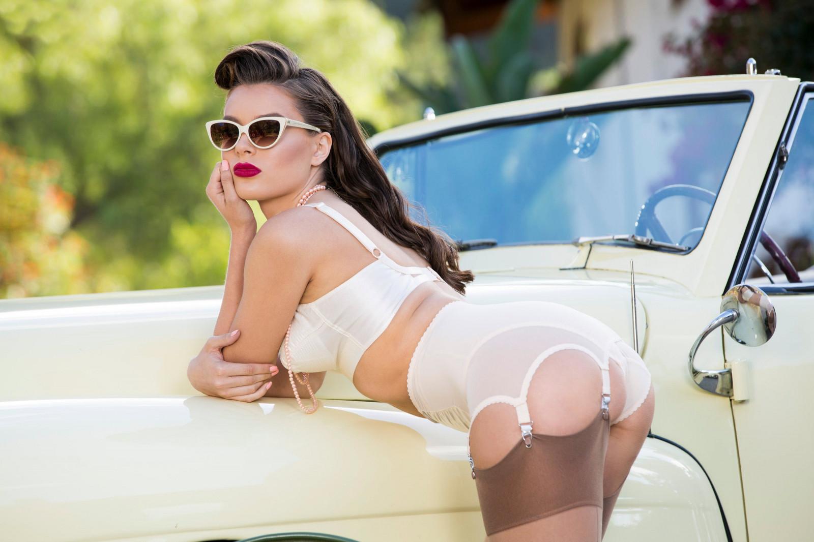 Lana rhoades car