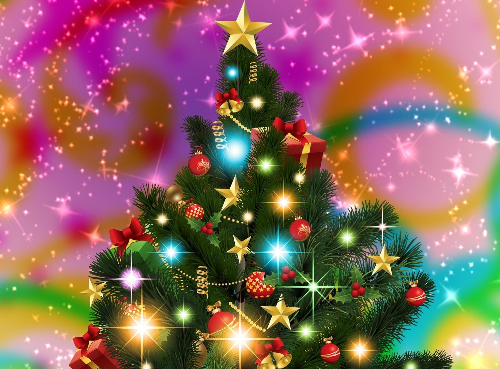 открытки красивые новогодние елки дома склоне имеет