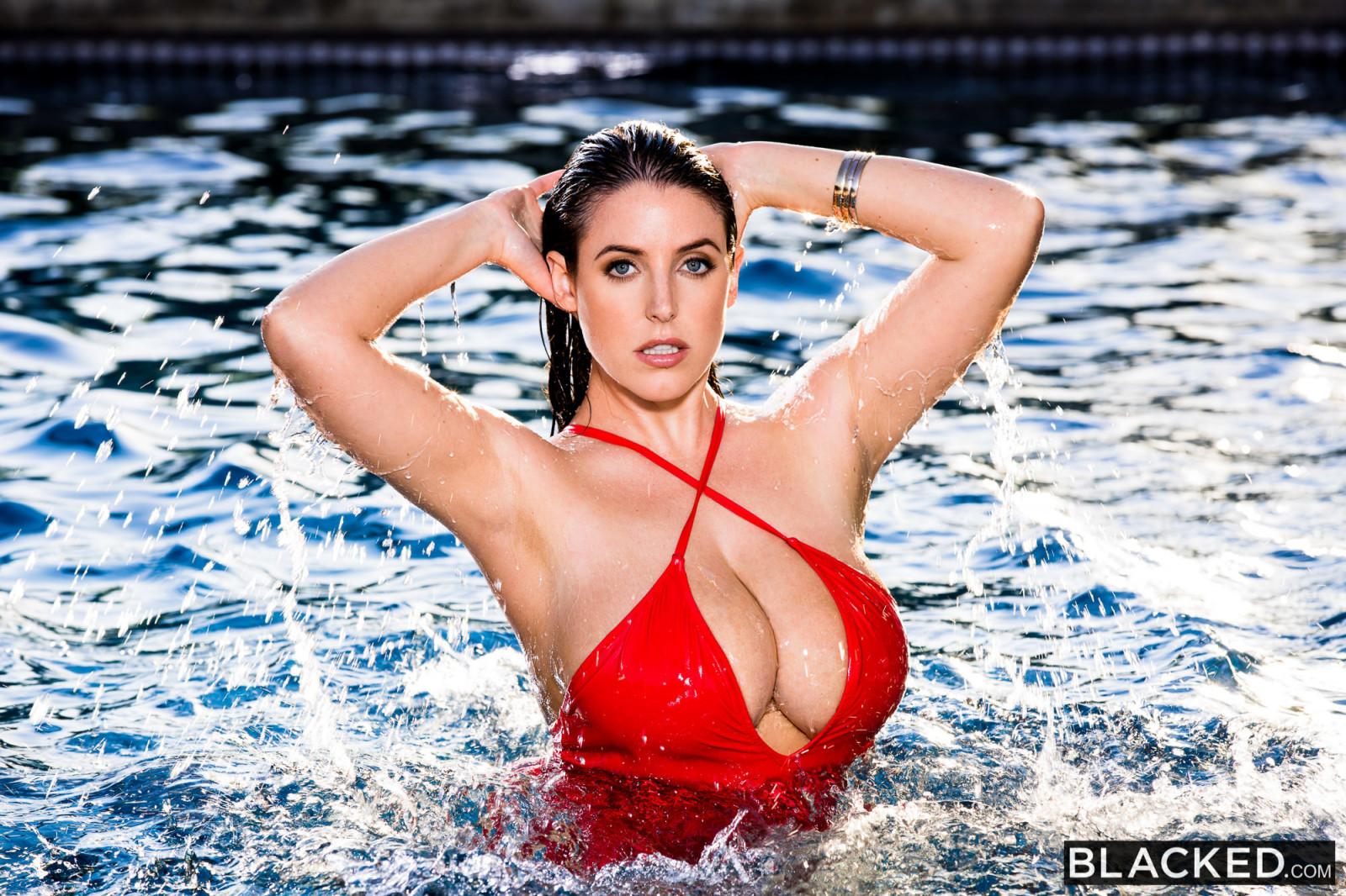 Wallpaper  Angela White, Model, Women, Swimming Pool -1182