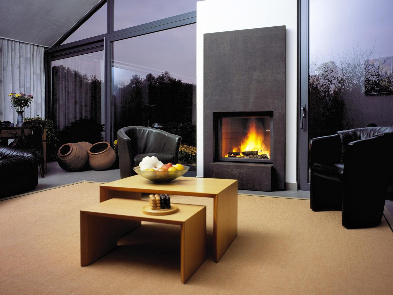 Fond D Cran Chambre Int Rieur Table Moderne Chemin E  # Meubles De Salon En Bois Moderne