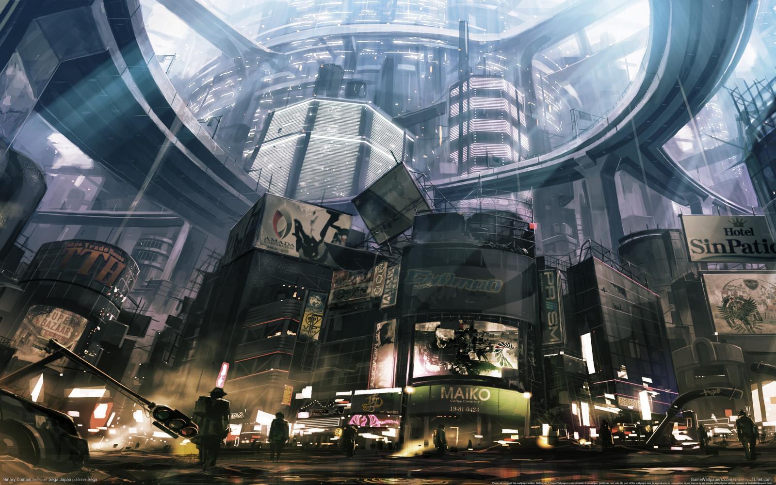 cityscapes futuristic wallpaper 1900x1041 - photo #6
