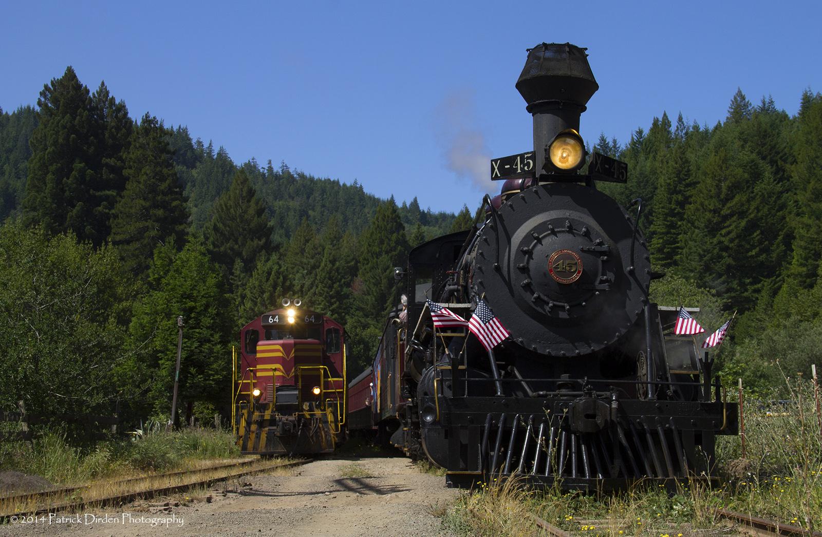 Wallpaper Rail Transport Track Train Steam Engine