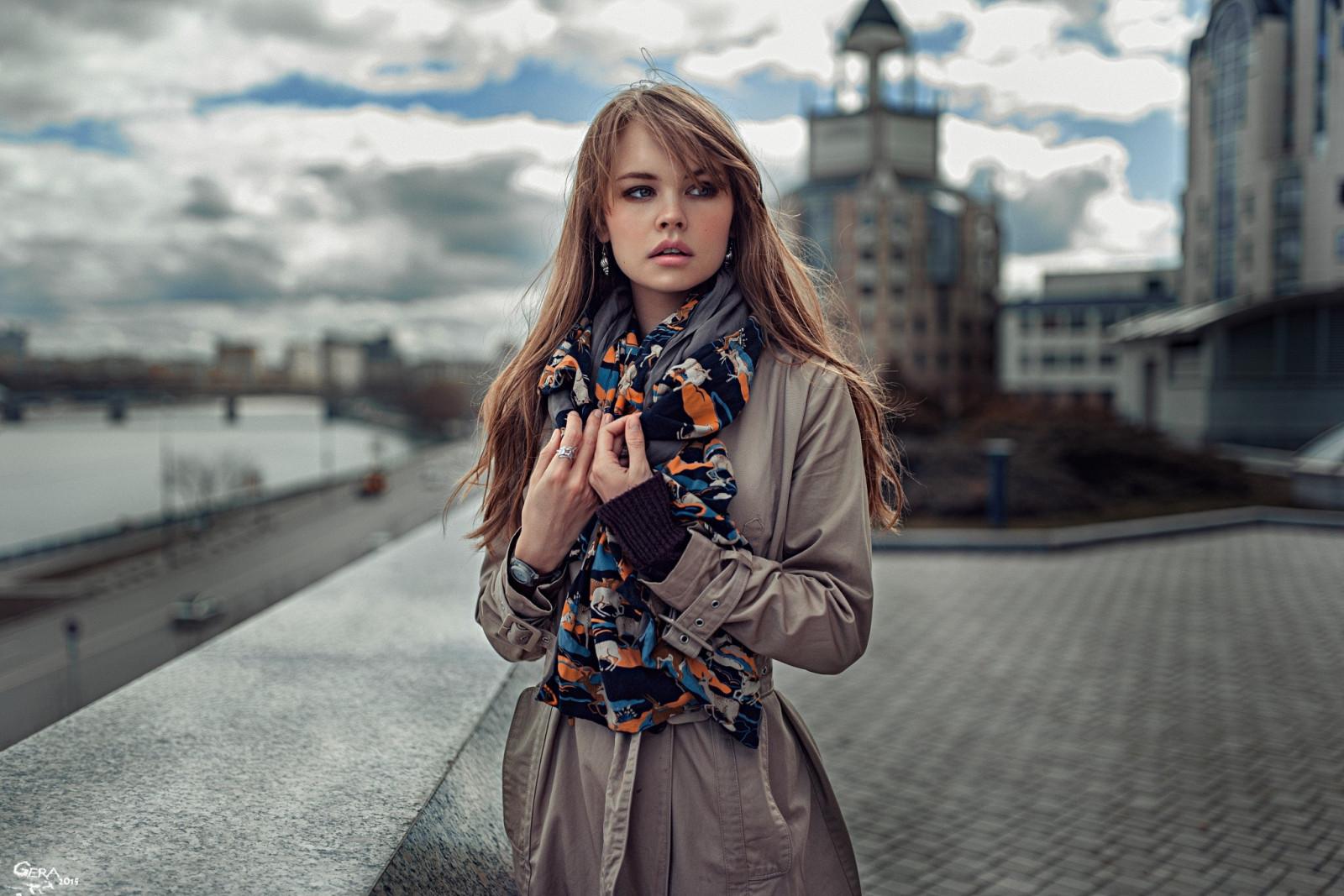 model, winter, Anastasia Scheglova, dress, blue, fashion, spring, clothing, girl, beauty, lady, snapshot, photo shoot