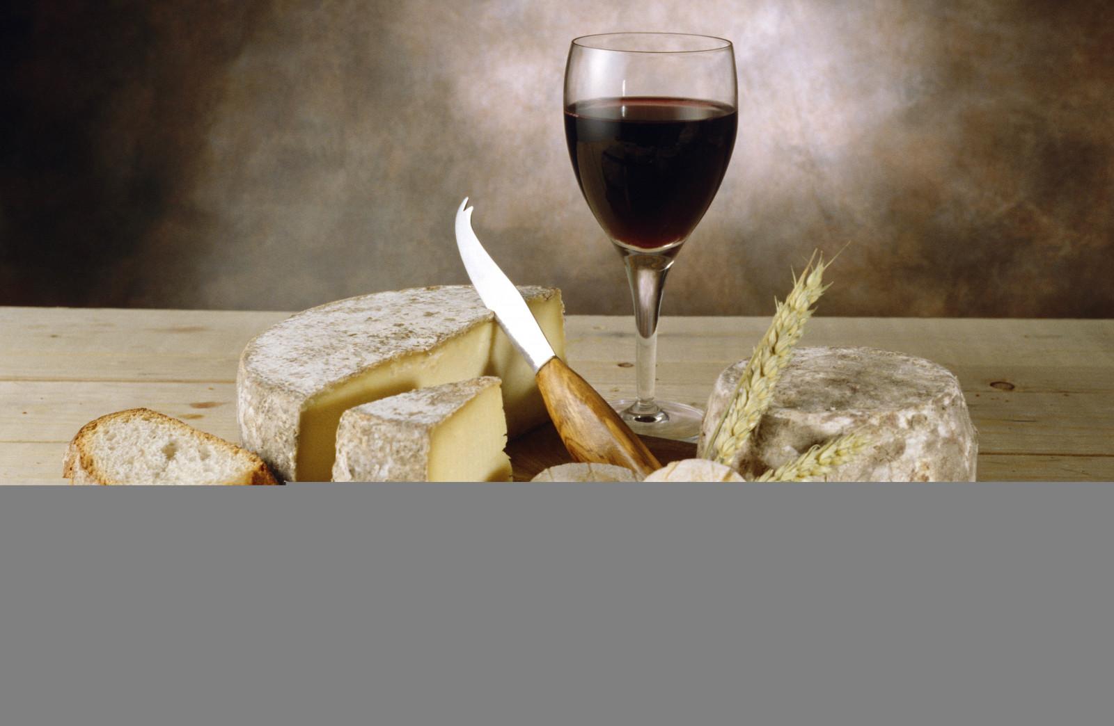 Masaüstü Boyama Ekmek Ahşap Peynir şarap Içki Bardak Bıçak
