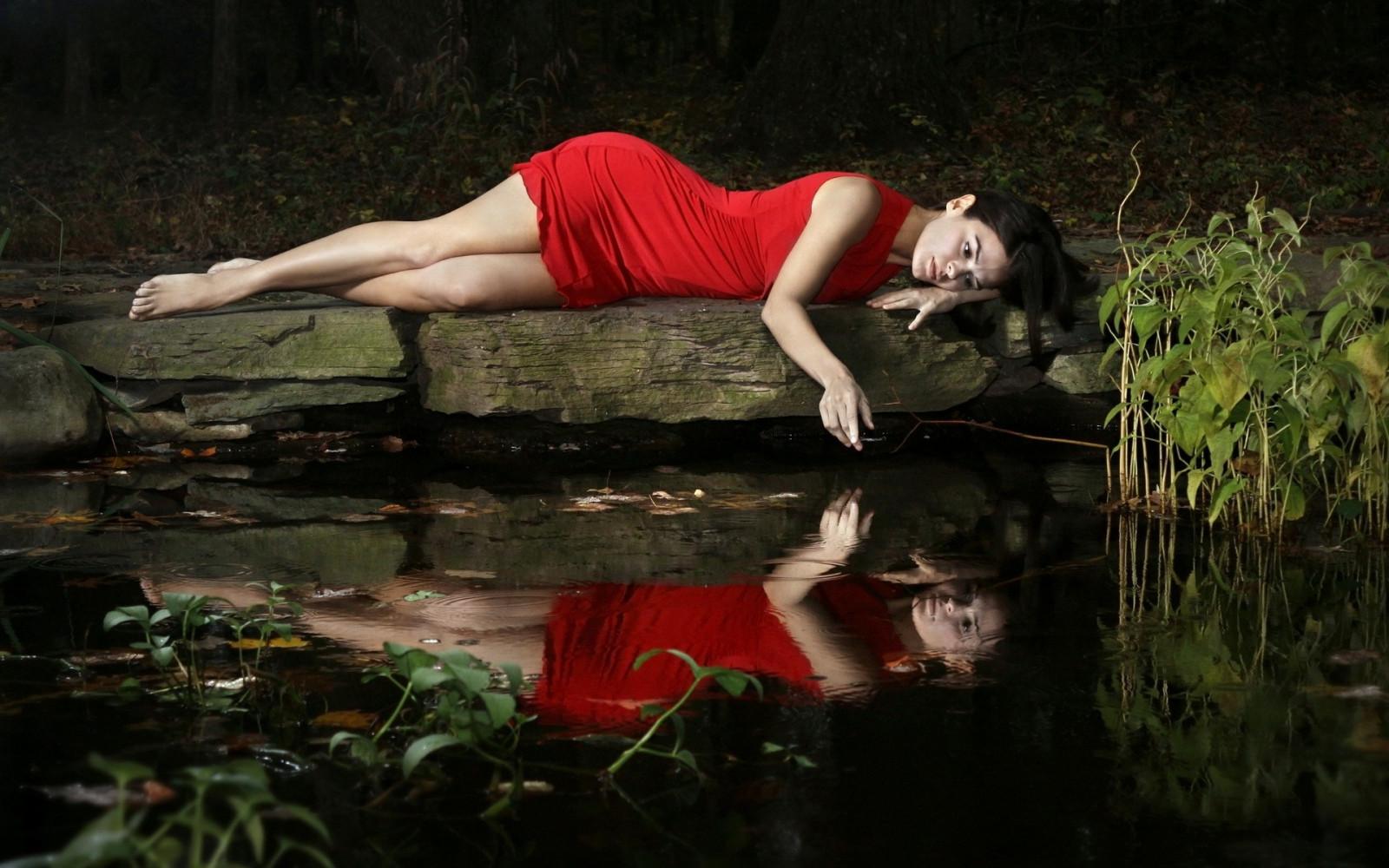воде сделать фото отражение в
