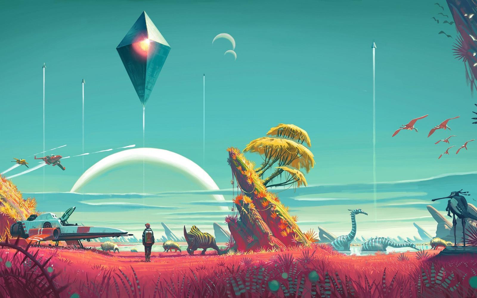 Concept-Art de Science-Fiction  Science Conceptual Illustration