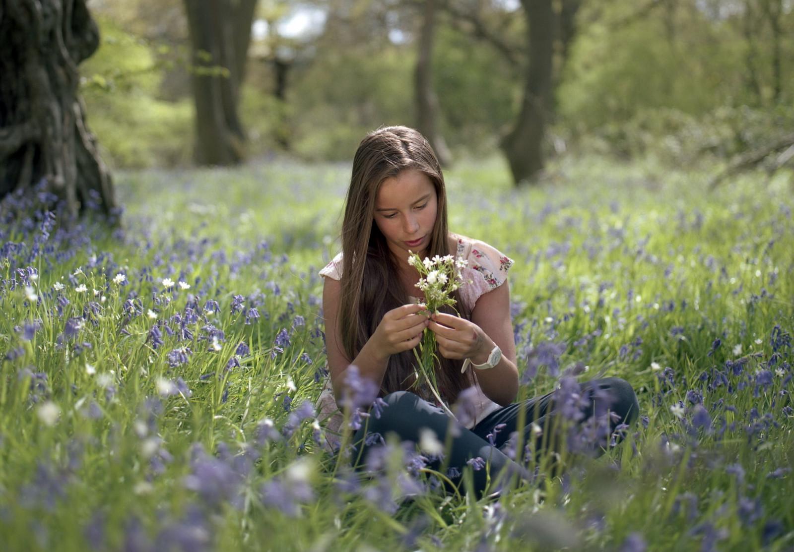 Картинки красивые девушки на природе, картинки аву