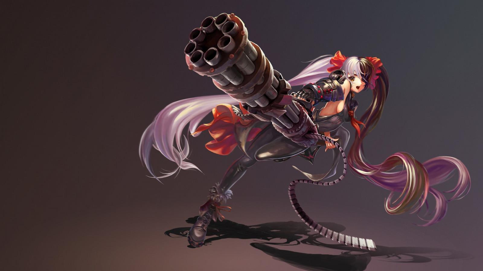 Wallpaper : illustration, anime girls, Blade Soul ...
