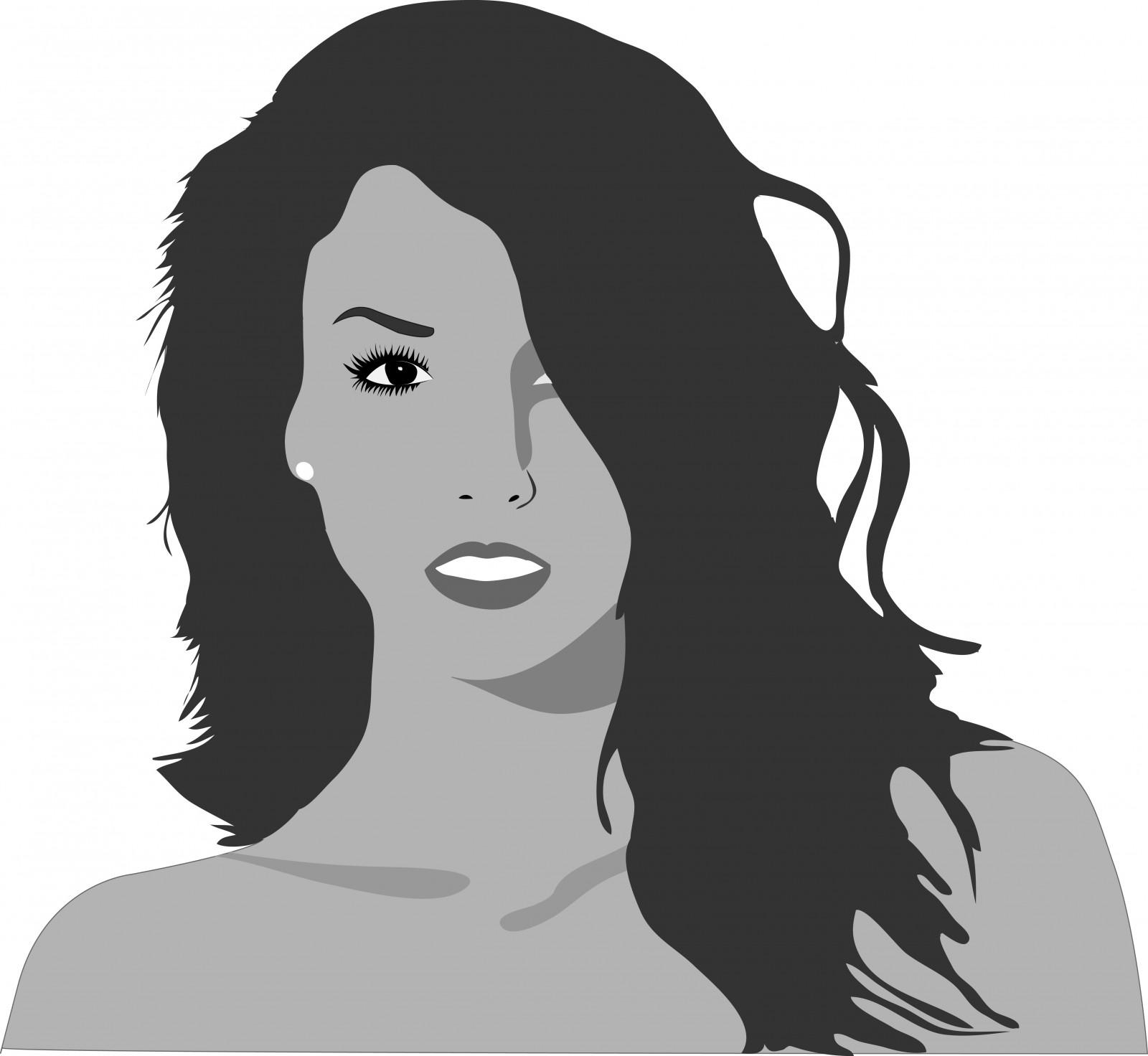 Fond D Ecran Visage Illustration Femmes Monochrome