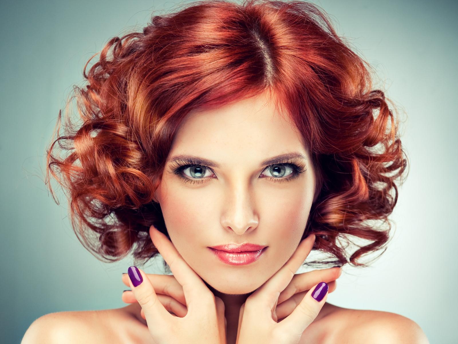 Wallpaper : face, women, redhead, model, portrait, long ...