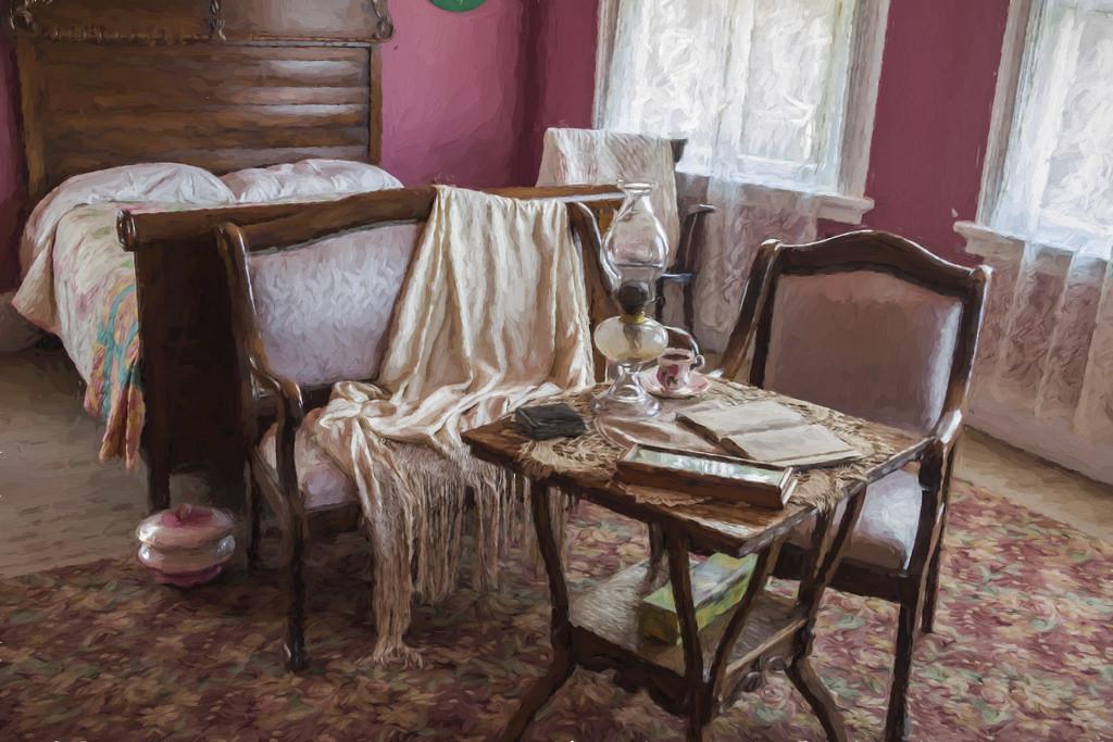Baggrunde : maleri, vindue, værelse, interiør, tabel, hus, stol ...