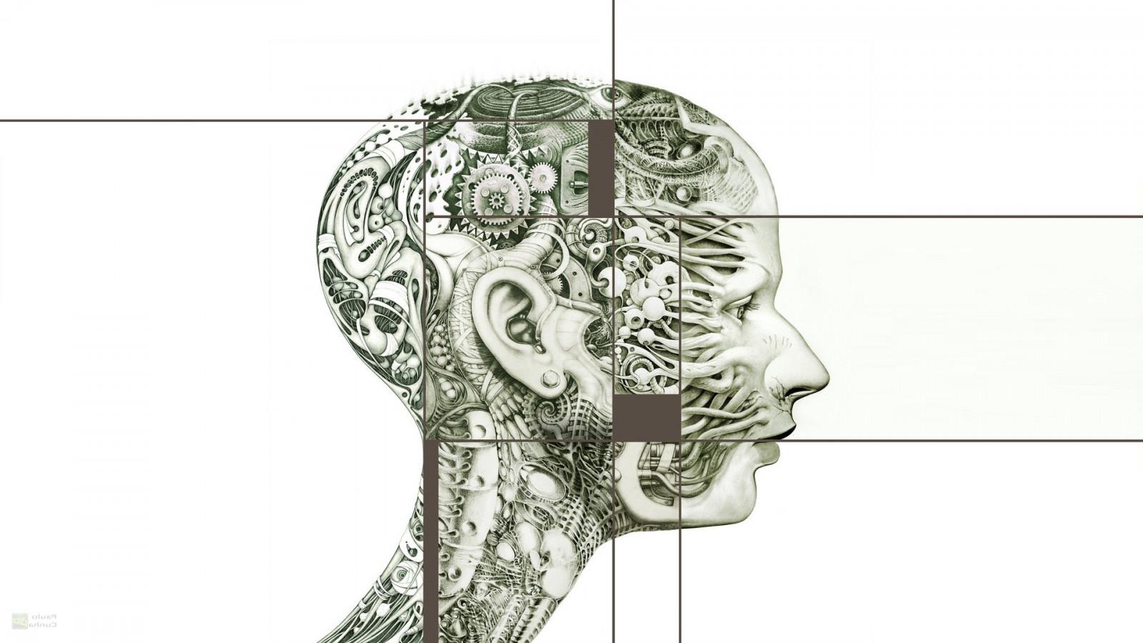 Wallpaper Drawing Illustration Abstract Head