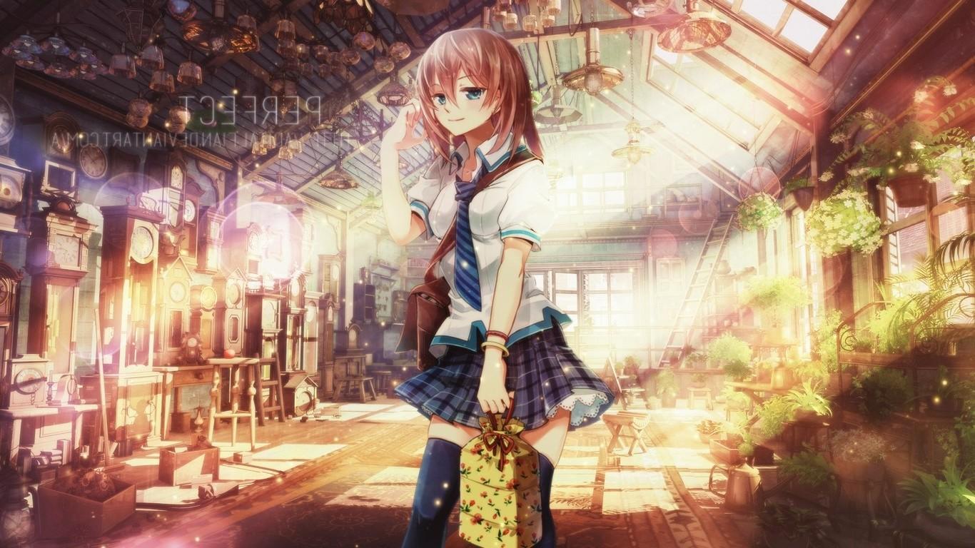 fond d'ecran anime gratuit 1366x768