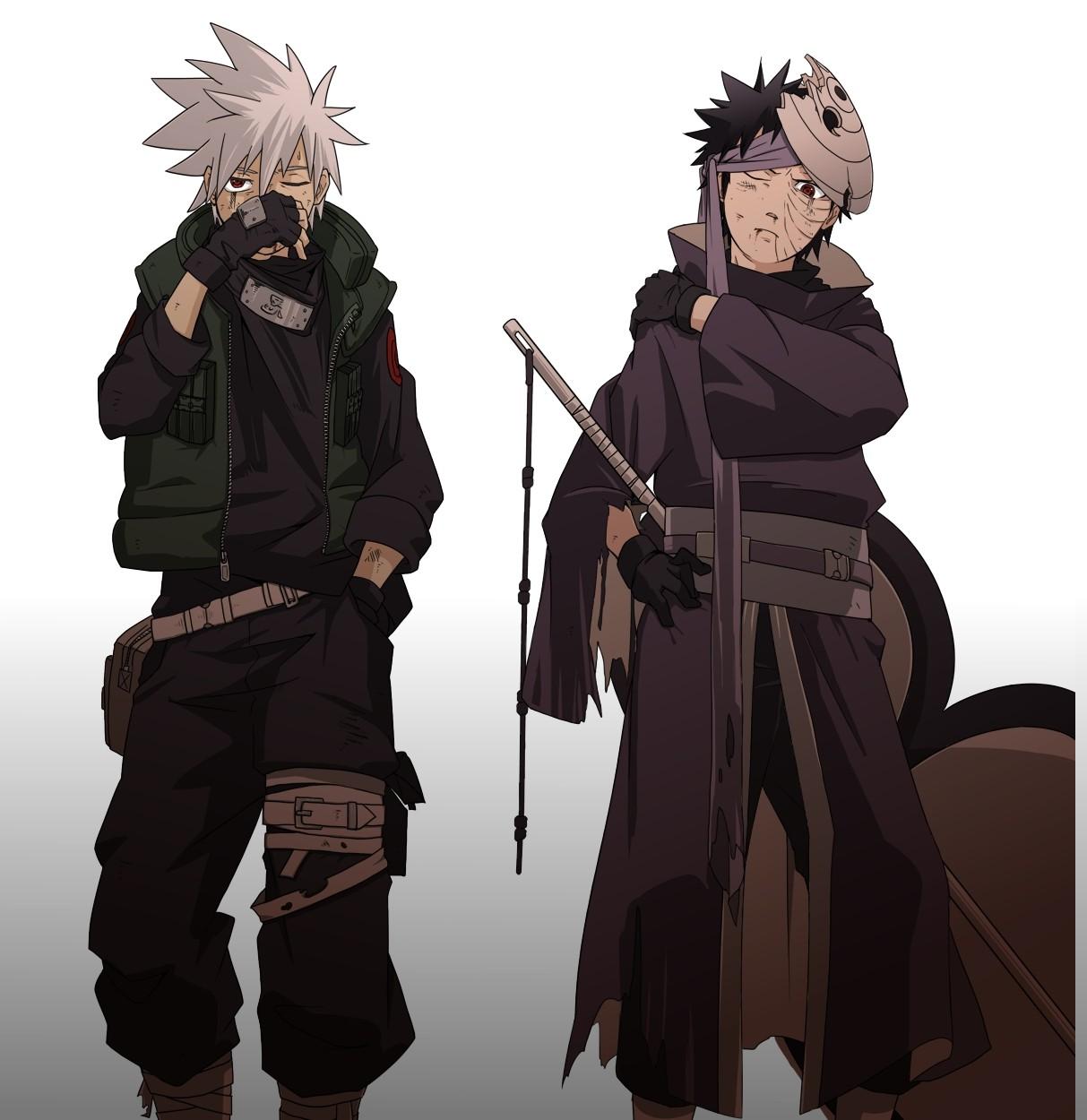 Wallpaper Kakashi Anime: Wallpaper : Anime Boys, Weapon, Artwork, Hatake Kakashi