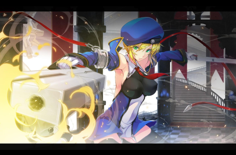 Anime Girls Blazblue Noel Vermillion Screenshot