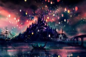 Hintergrundbilder Karikatur Walt Disney Verheddert
