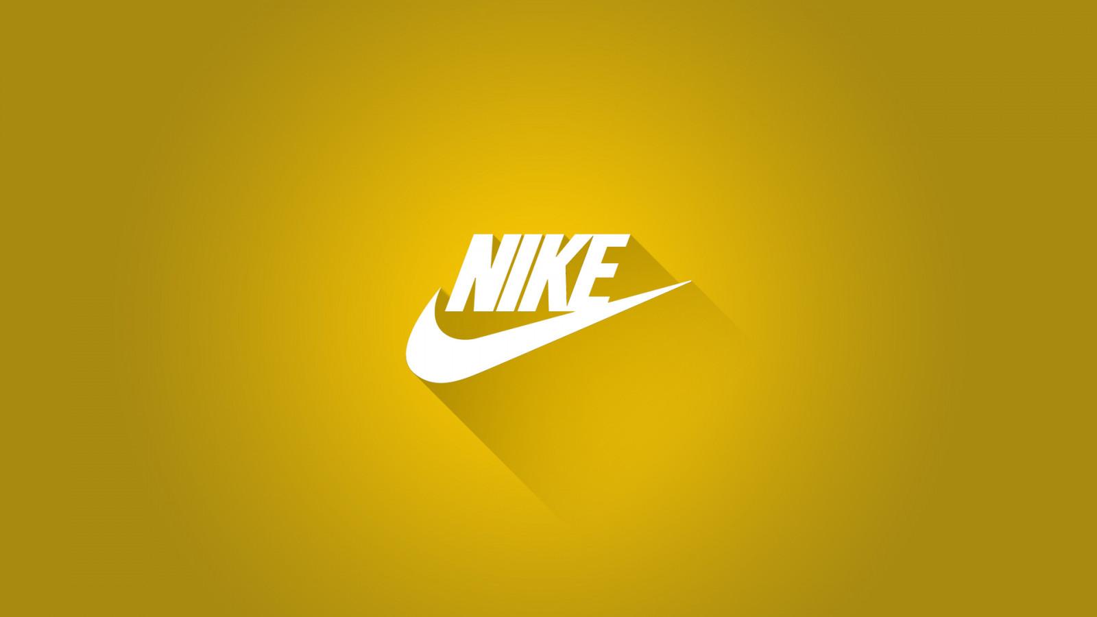 Fond D Ecran Nike Illustration Sport Texte Logo Jaune