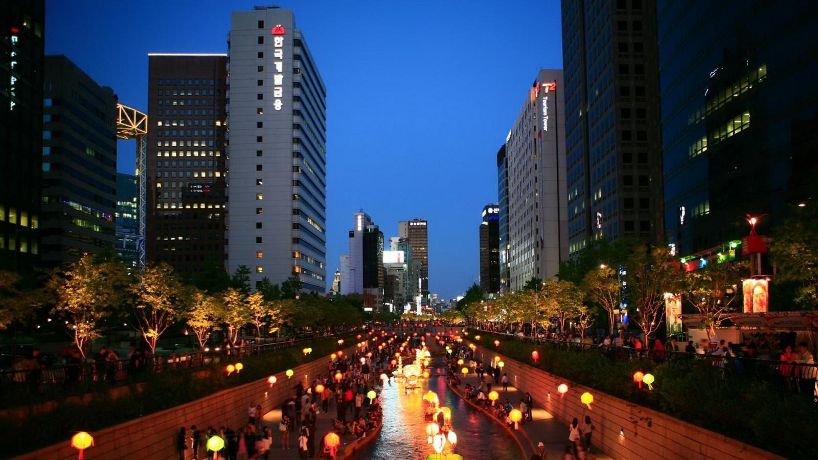 Cityscape - South korea wallpaper hd ...