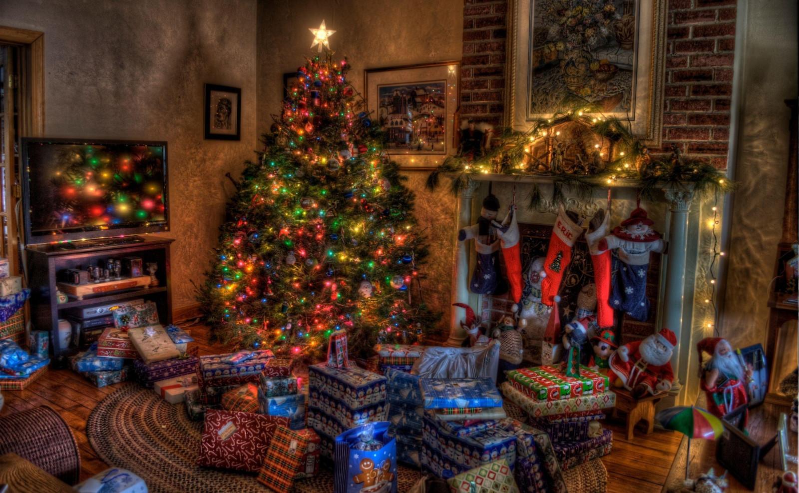 Лучшие рождественские картинки, днем