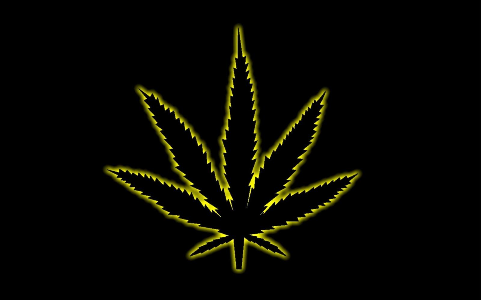 Wallpaper : minimalism, yellow, cannabis, leaf, flower ...