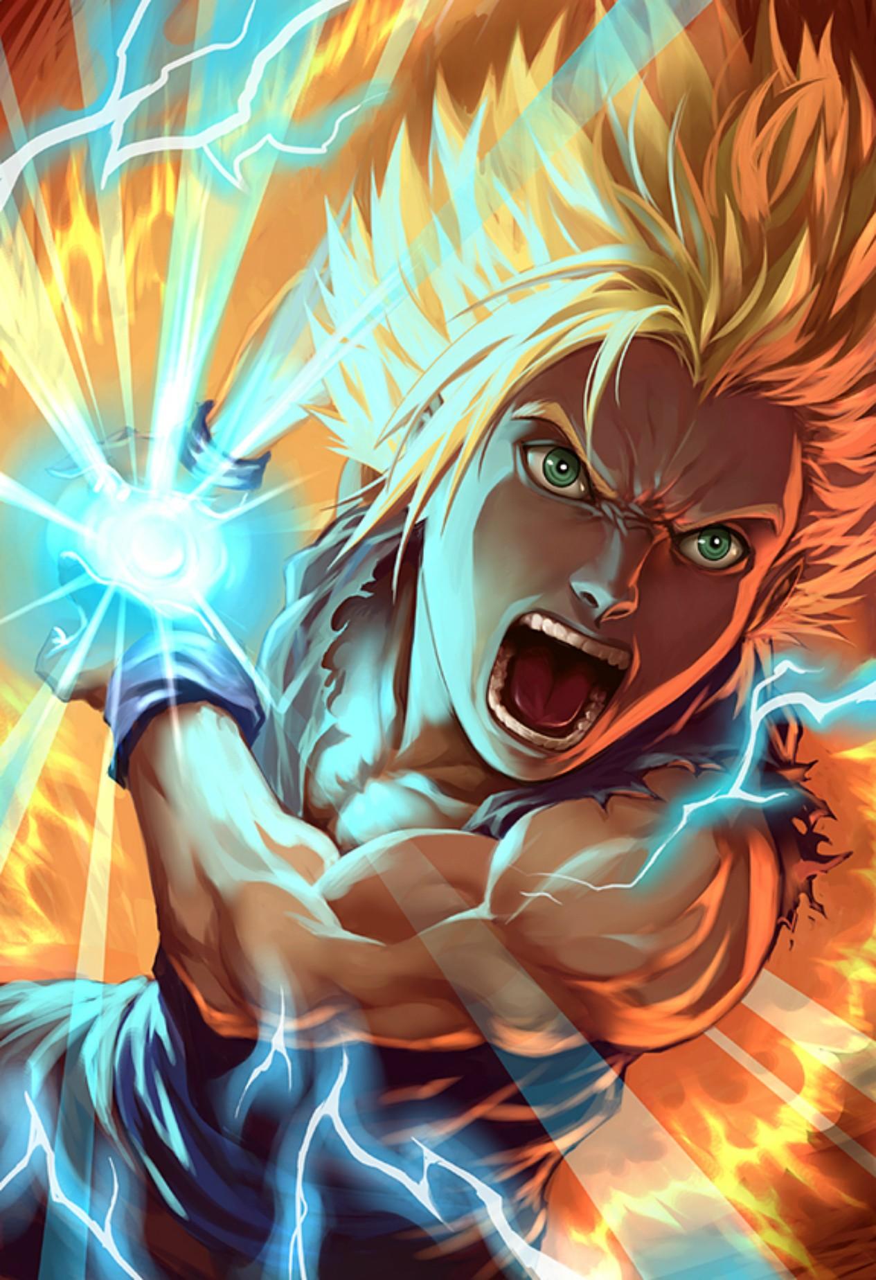Fondos De Pantalla Ilustración Anime Bola De Dragón Son