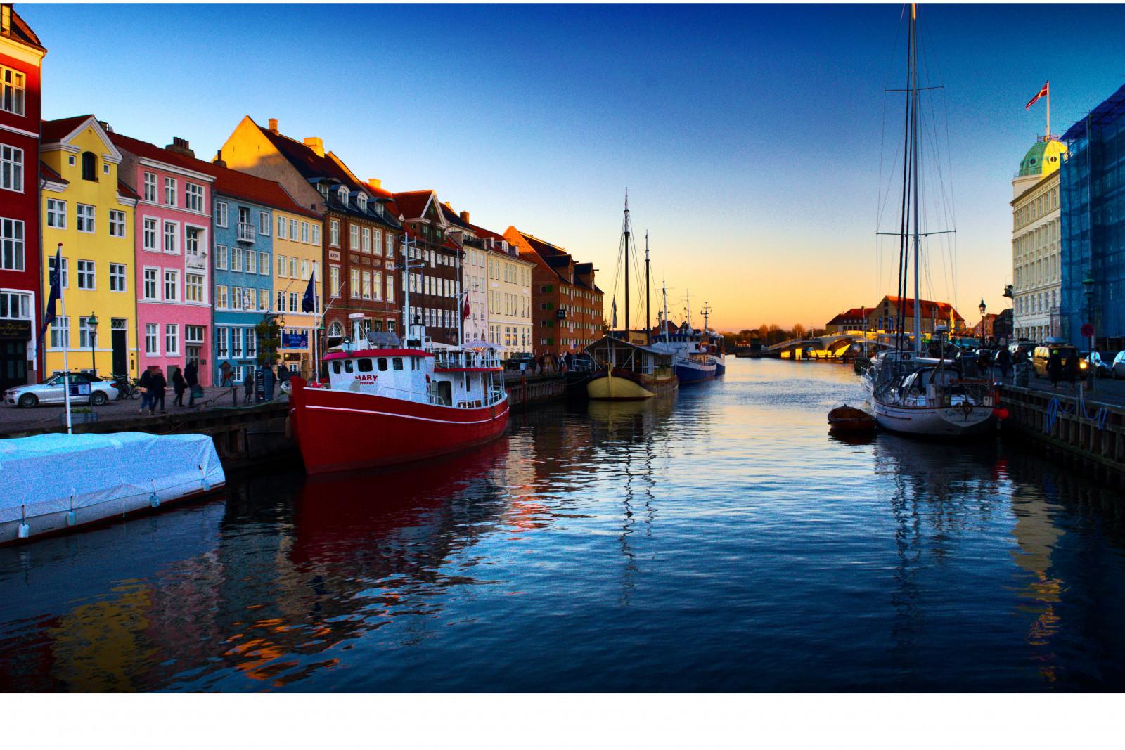 Wallpaper nyhavn copenhagen denmark fairytale 6008x4008 1088368 hd wallpapers wallhere - Copenhagen wallpaper ...