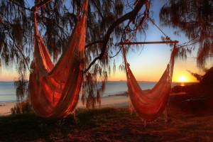 Fond d'écran : 2560x1920 px, Hamacs, palmiers, relaxation ...