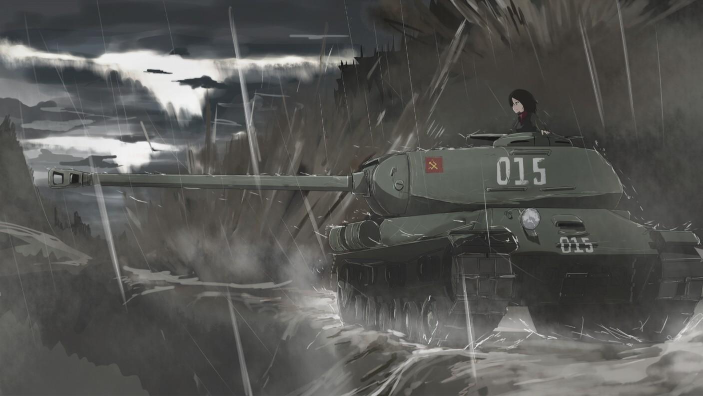 Картинка танка аниме