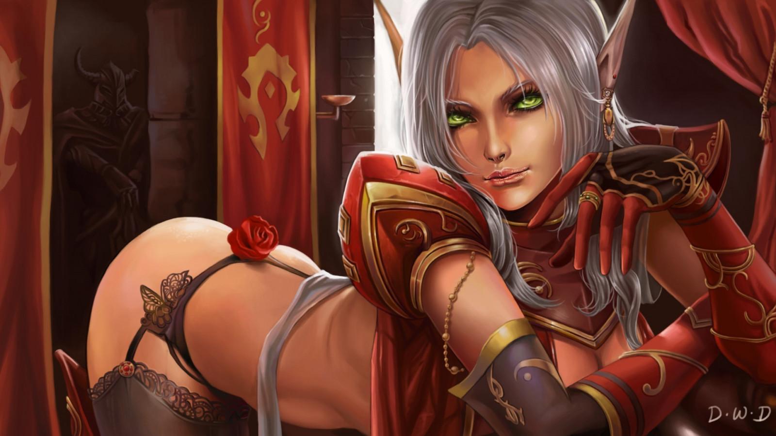 Blood elf hentai sex