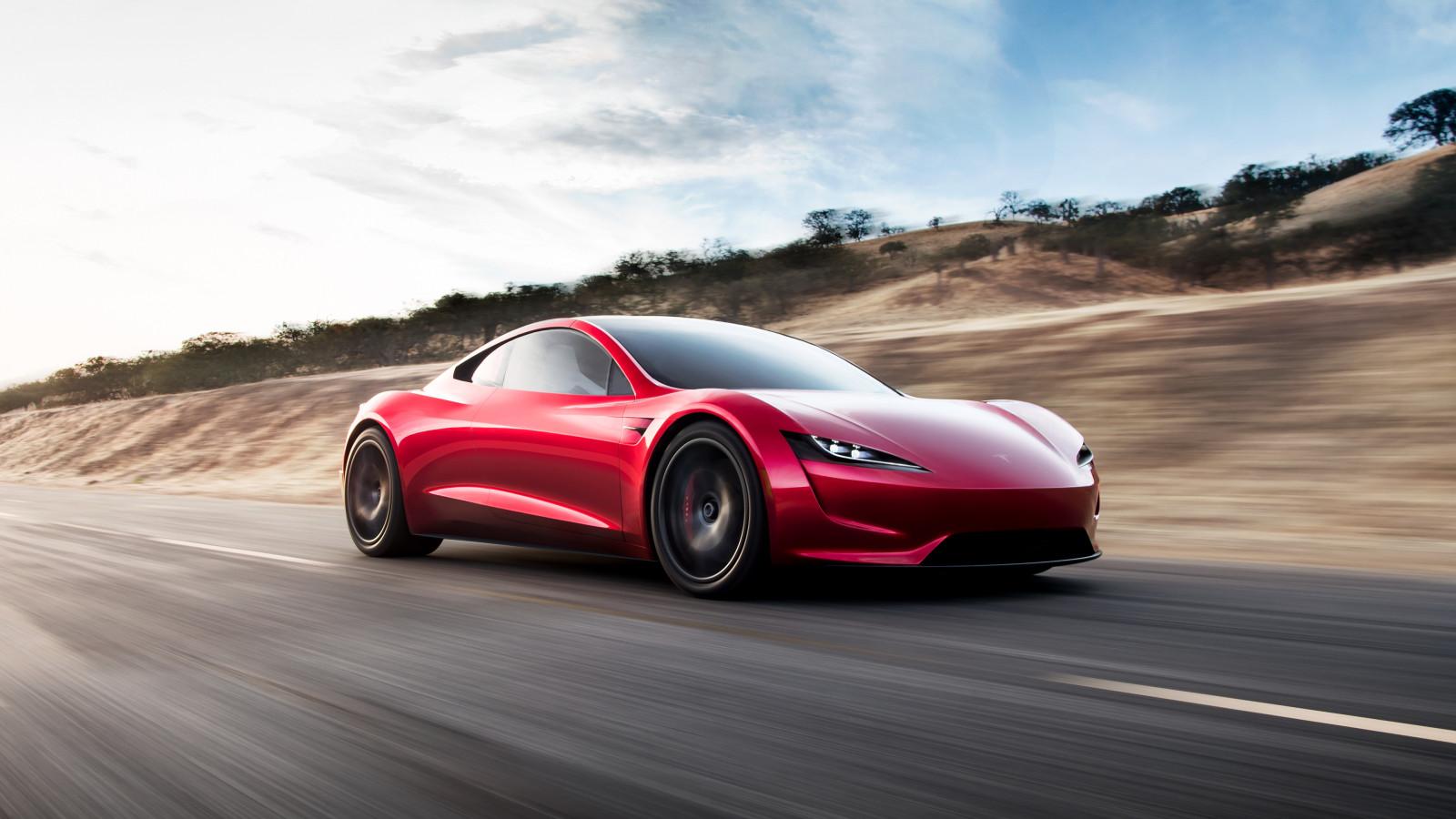 fond d 39 cran tesla motors tesla roadster supercars voiture de sport voiture lectrique. Black Bedroom Furniture Sets. Home Design Ideas
