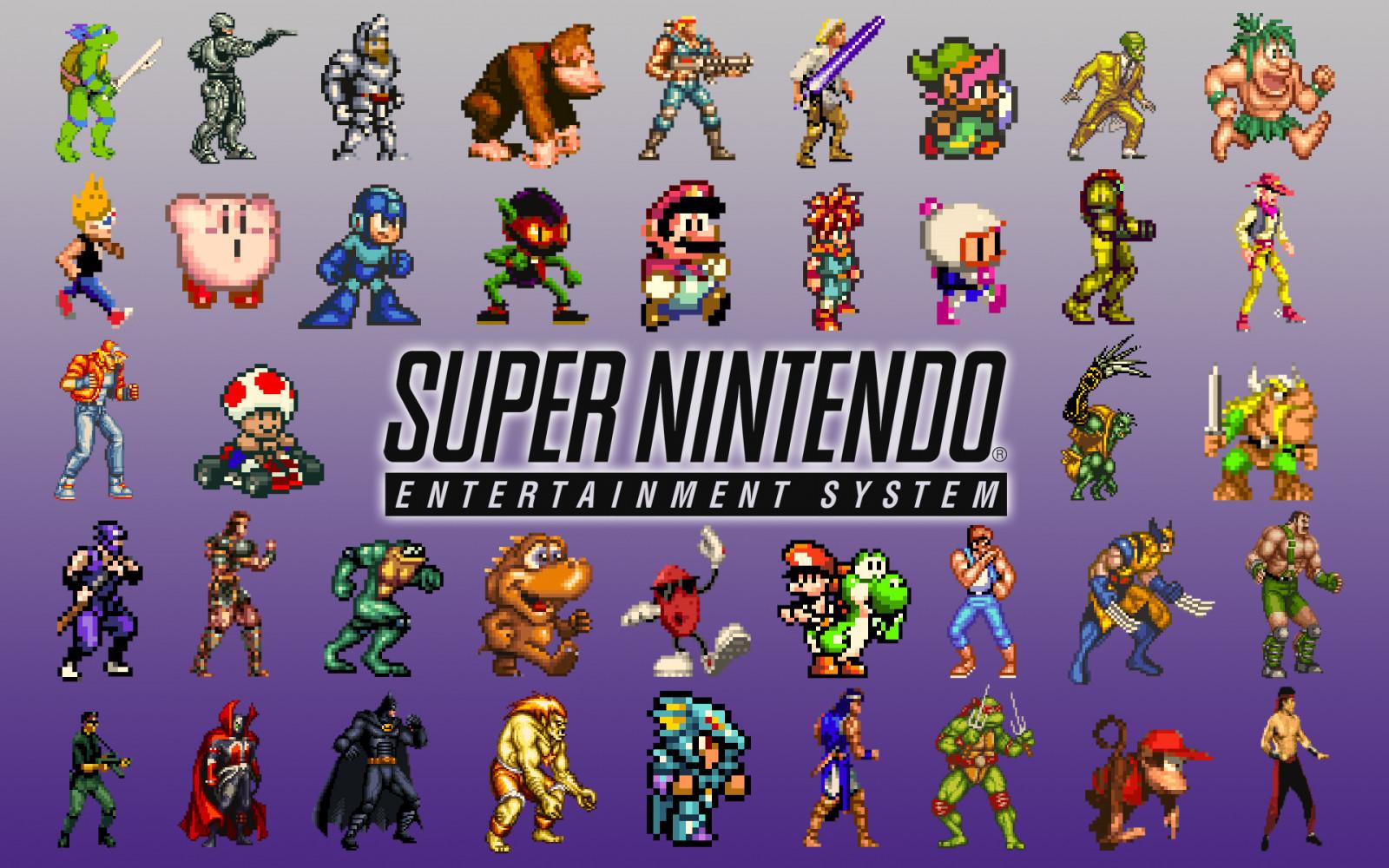 Wallpaper Ilustrasi Seni Digital Video Game Pixel Art Kolase