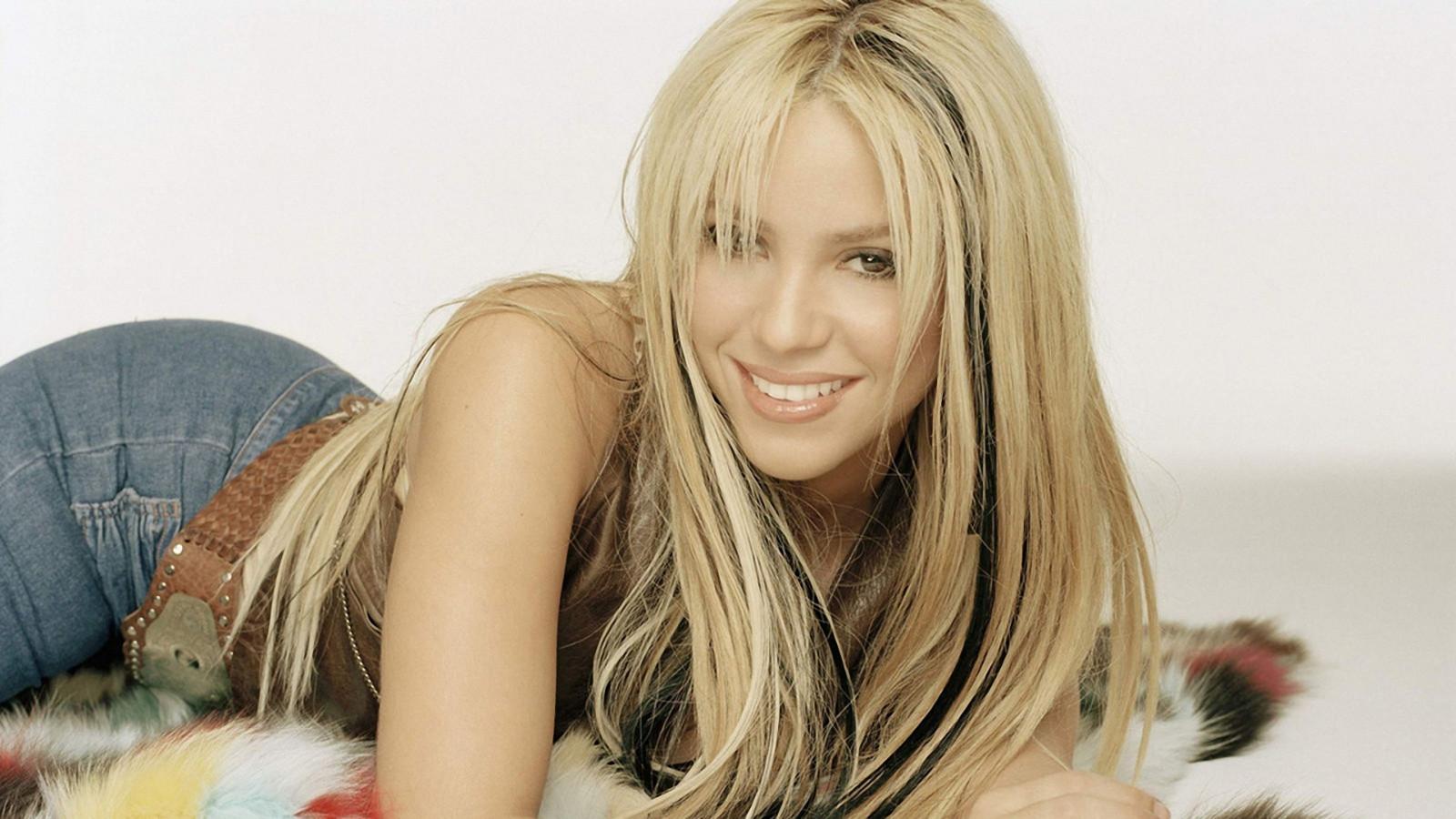 Hintergrundbilder Blond Lange Haare Arsch Shakira Madchen