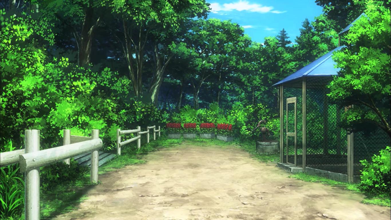 Non Non Biyori anime landscape nature 25909