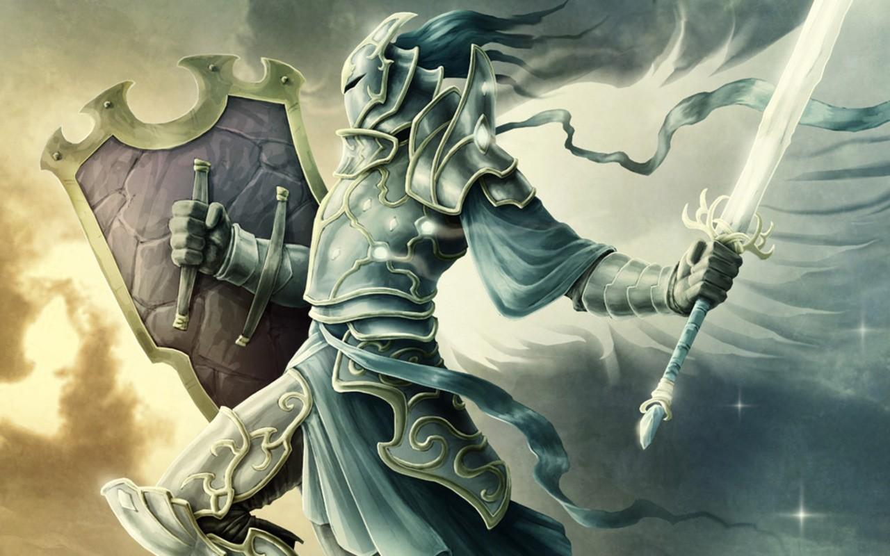 Illustration Fantasy Art Anime Wings Angel Sword Warrior Shield Person Jason Engle Screenshot Computer Wallpaper