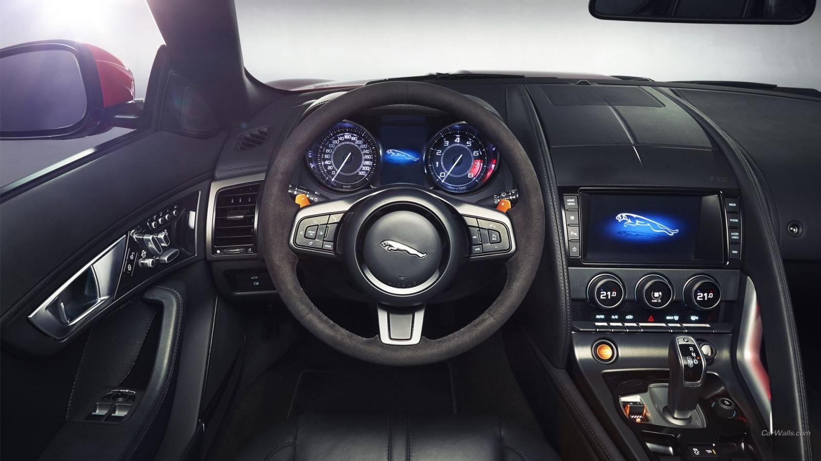 Wallpaper Car Interior Sports Car Jaguar Car Jaguar F Type