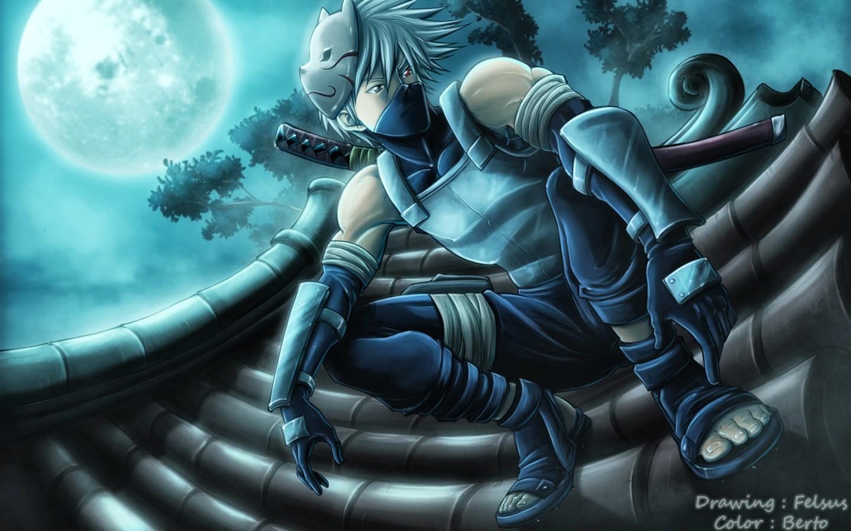 mask Hatake Kakashi Naruto Shippuuden ANBU screenshot computer wallpaper pc game