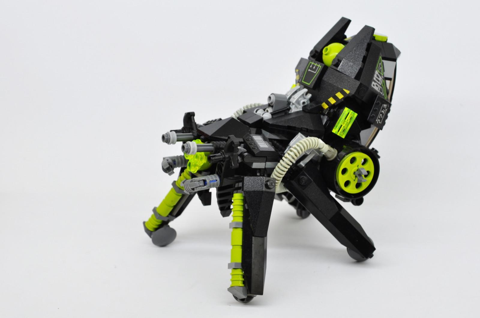 Robot Tank LEGO Mech Toy Machine Spider Cyber Tachikoma Future Mecha Marchikoma Lugindonesia Sifi Moclego Product