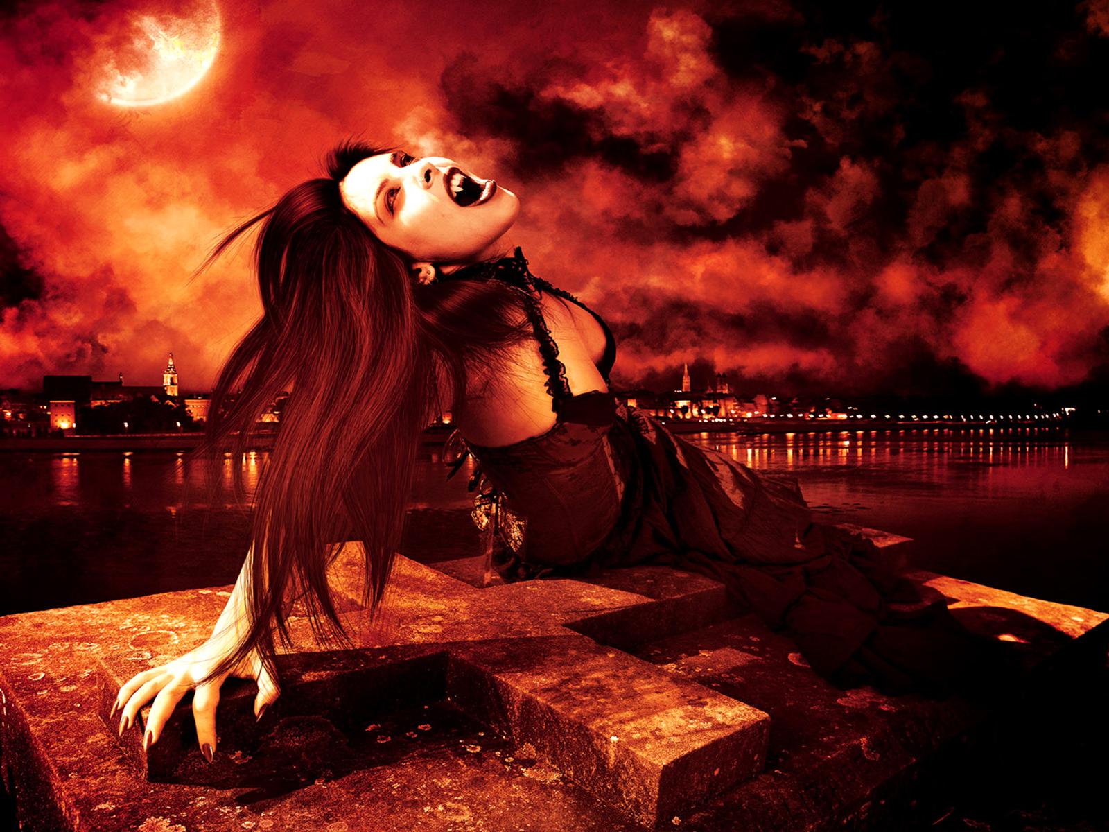 Unduh 440+ Wallpaper Vampir Cantik Gambar HD Terbaru