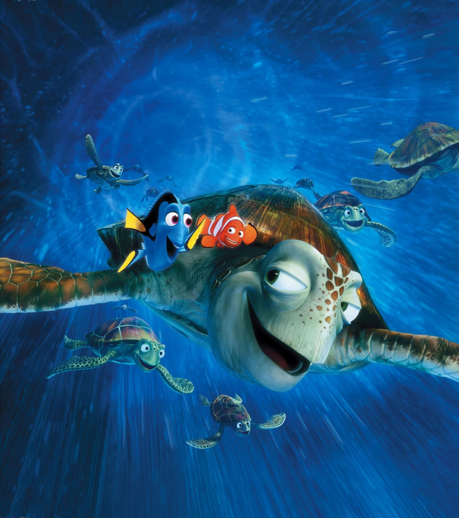 Wallpaper Movies Underwater Disney Finding Nemo