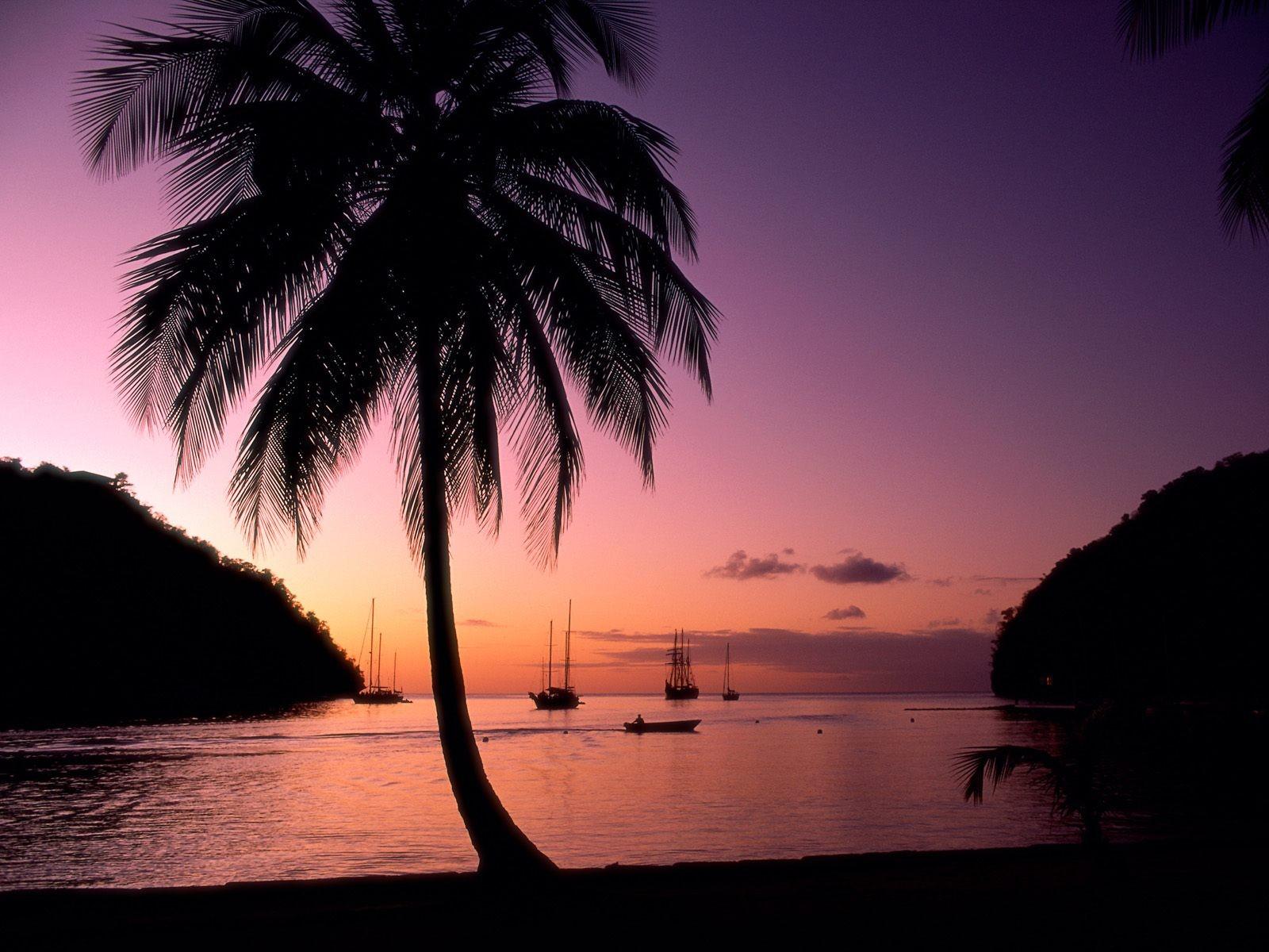 Закаты на Карибах: яхтинг