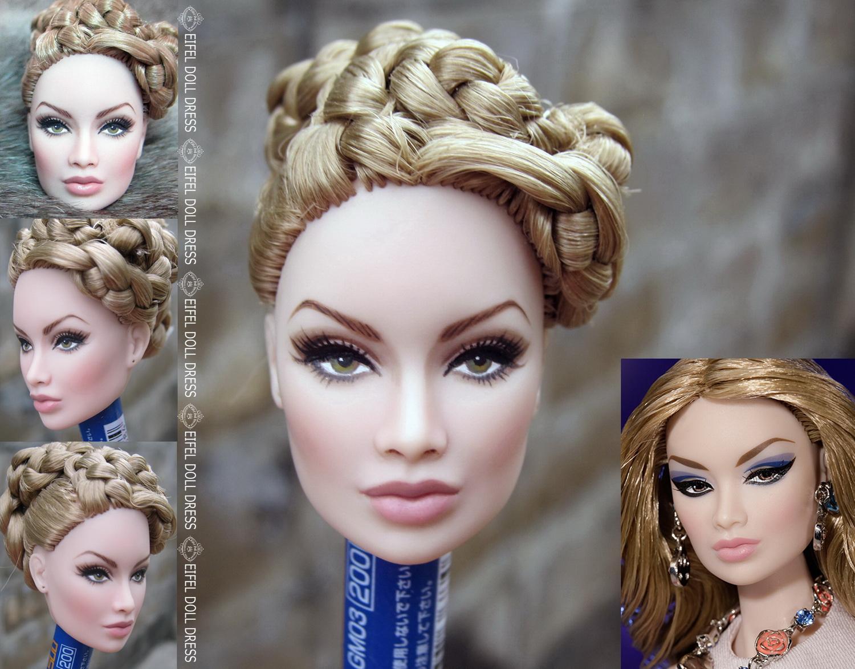 Barbie Haare Färben