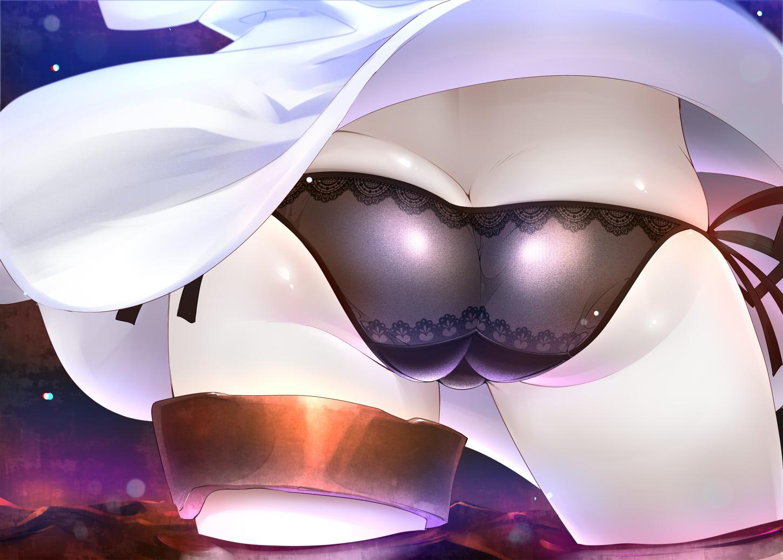 Картинки с попами аниме девушки