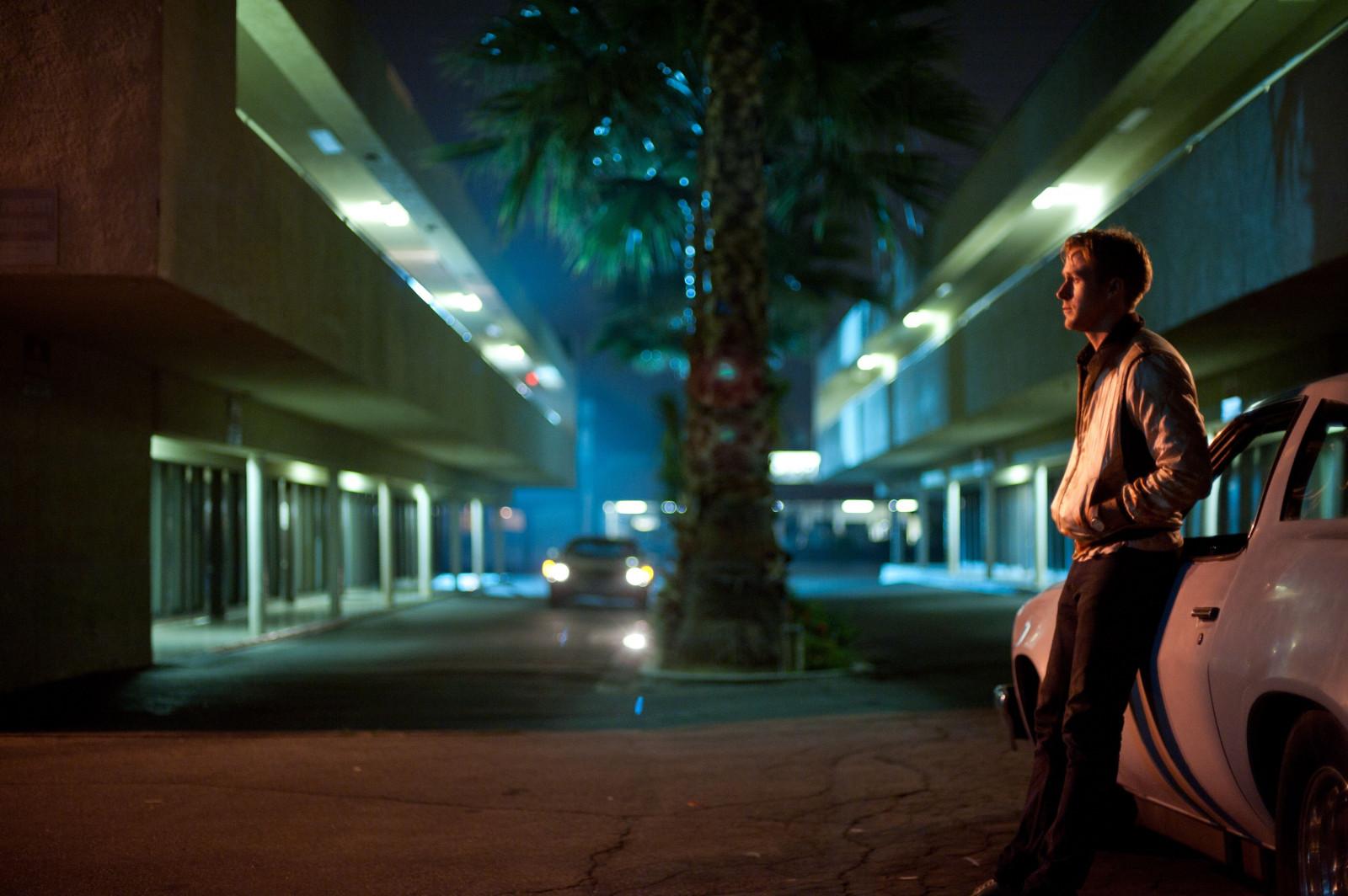 wallpaper night movies evening ryan gosling drive